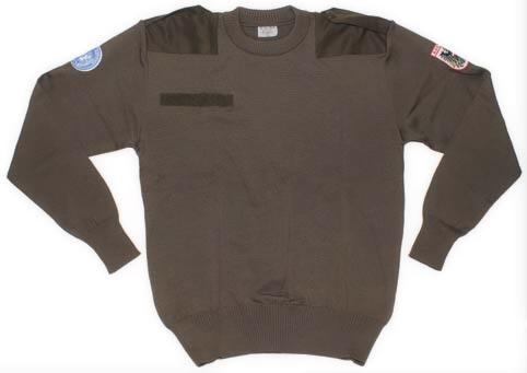 Продам новый свитер Bundesheer австрийский. . Цвет олива. . Состав ткани:
